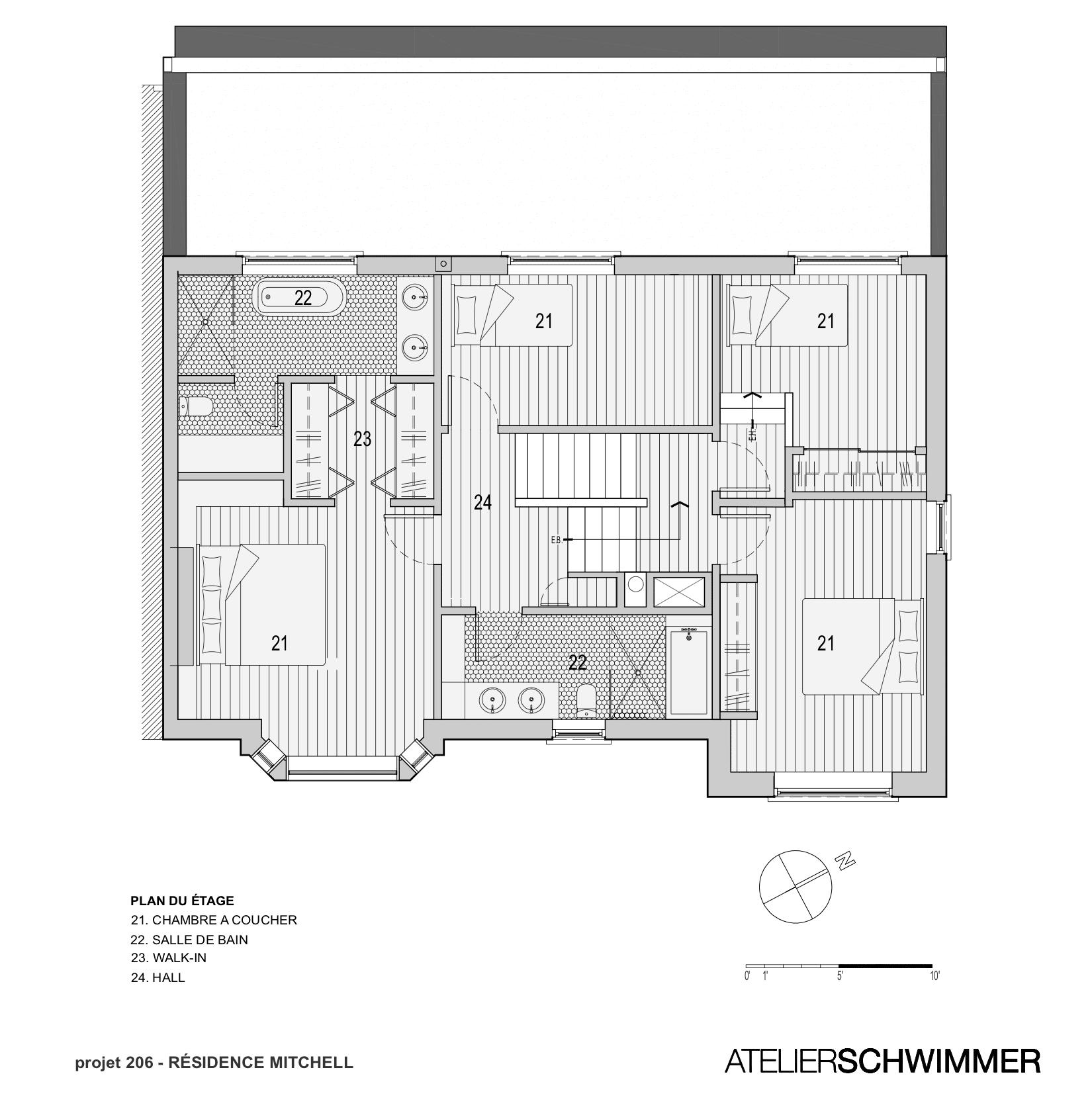 PLAN ETAGE 2